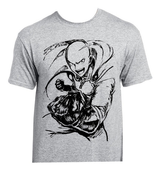 Playera Anime One Punch Man Saitama