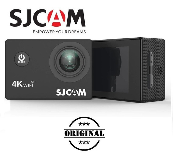 Sjcam4000 Air 4k Wifi Hd 1080 + 1 Carregador Duplo + 2 Bat