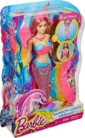 Boneca Barbie Dreamtopia Sereia Das Cores Original Mattel