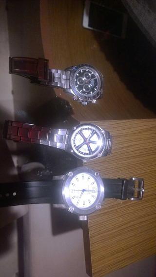 Lote Com 3 Relógios