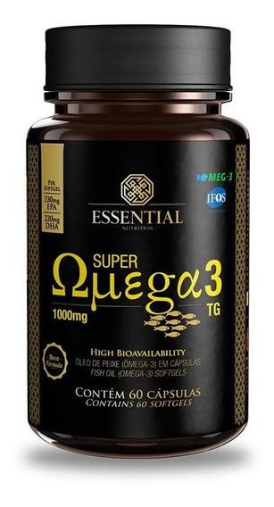 Super Omega 3 Tg (60caps De 1g) Essential Nutrition