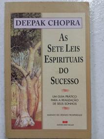 Livro As Sete Leis Espirituais Do Sucesso - 8ª Edição