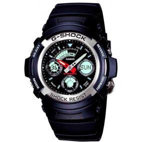 Relógio Casio G-shock Aw-590-1adr Resistente A Choques Nf