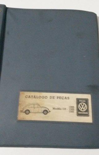 Catálogo Peças Vw Fusca 1200 1300 1500 1961-1971 - Origina