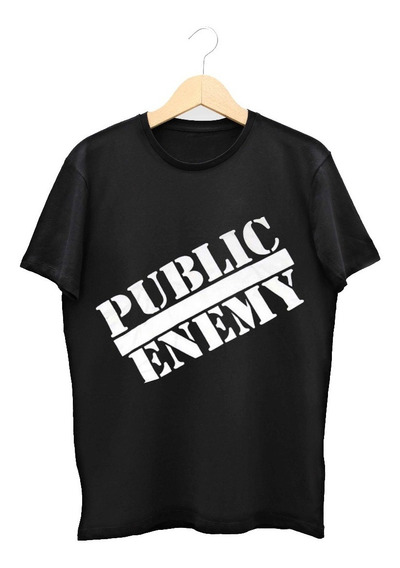 Remera Public Enemy (terminator 2 John Connor)
