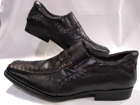Sapato Masculino Numeros Especiais Preto 800a326