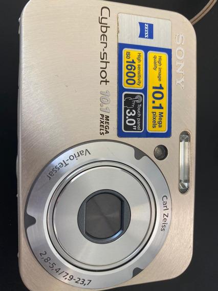 Câmera Digital Sony Cybershot Dsc-n2 10.1mp Com Acessorios