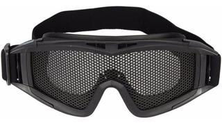 Óculos De Proteção Airsoft Chaco Com Tela Ntk