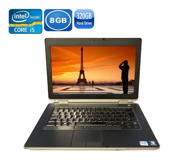 Notebook Dell E6430 Core I5-3320 8gb Hd 320gb + Bateria Nova