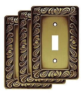 Franklin Brass W10108vabtr Paisley Sola Placa De Pared Con I