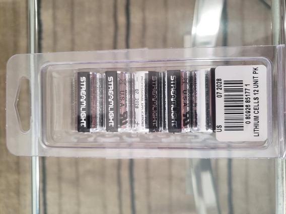 Bateria Streamlight Cr123a Pack 12 Unidades