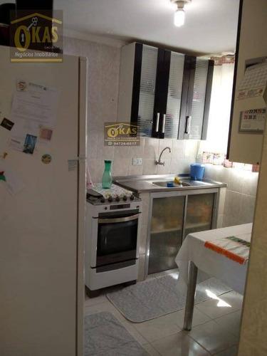 Apartamento Com 2 Dormitórios À Venda, 45 M² Por R$ 140.000,00 - Conjunto Habitacional Juscelino Kubitschek - São Paulo/sp - Ap0444