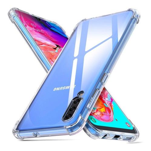 Funda Airbag Transparente Bordes Reforzados Samsung A70
