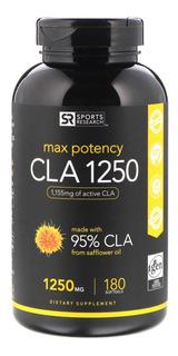 Cla 1250mg 95% Maxima Potencia. Estandarizado X180 Softgel