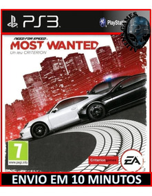 Need For Speed Most Wanted Ps3 Psn Envio Imediato