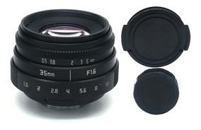 Lente 35mm F1.6 Para Sony E Mount Serie Nex A7s A6000