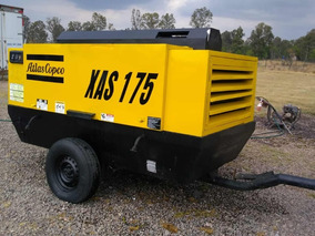 Compresor De Aire Atlas Copco Xas185cm 2006 Excelente Estado