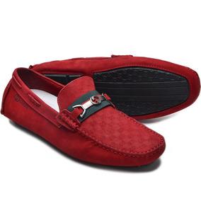 ae2eb12b1d Gucci Masculino Sapatilhas - Sapatos para Masculino Vermelho no ...