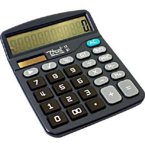 Calculadora De Mesa 12 Digitos Pilha/solar 1200 Spiral Digit