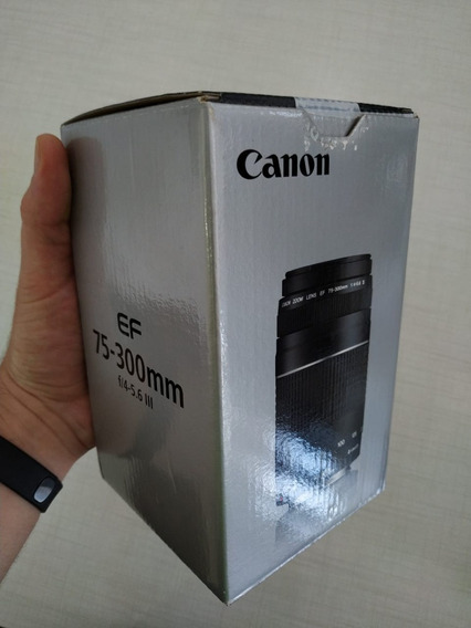 Lente Canon Nova Original Ef 75-300mm F/4-5.6 Ill