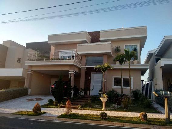 Casa À Venda, 389 M² Por R$ 1.900.000,00 - Condomínio Villa Lobos - Paulínia/sp - Ca1121