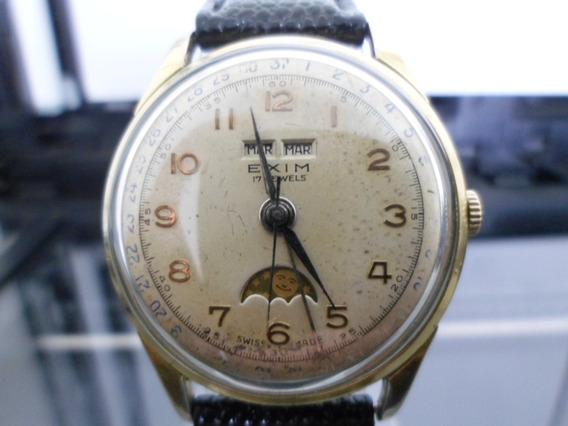 Exim Triple Calendario Fase Lunar , Pierce 17j Vintage