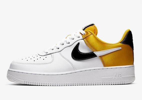 Zapatillas Nike Air Force 1 07 Lv8 Nba Yellow/white