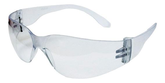 60 Óculos Proteção Leopardo Incolor Primeira Linha