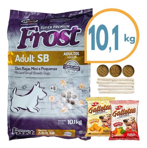 Comida Perro Adulto Frost Raza Pequeña 7,5 + 1 Kg + Regalo