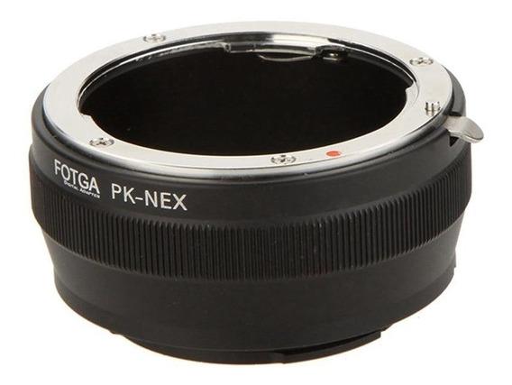 Anel Adaptador De Lente Pentax Pk Para Sony Nex E - Mount