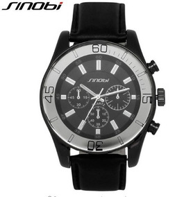 Relógio Masculino Sinobi W620.h Pulseira Preto