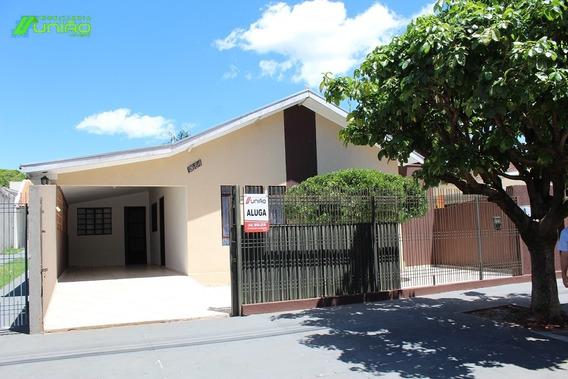 Casa Térrea Para Locação, 3 Dormitório(s) - 620