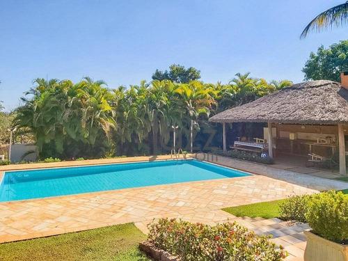 Chácara Com 3 Dormitórios À Venda, 5000 M² Por R$ 1.850.000,00 - Recanto Dos Pássaros - Indaiatuba/sp - Ch0326