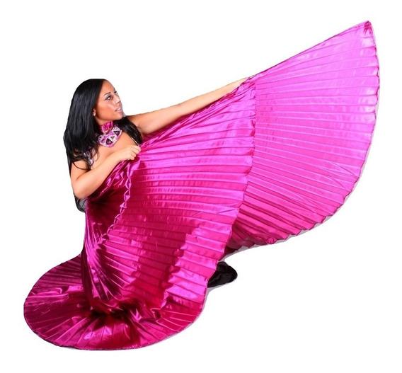 Bellydance Alas De Isis Profesionales Danza Árabe Fucsia