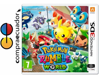 Pokemon Rumble World Nintendo 3ds Juego Físico Original 3 Ds