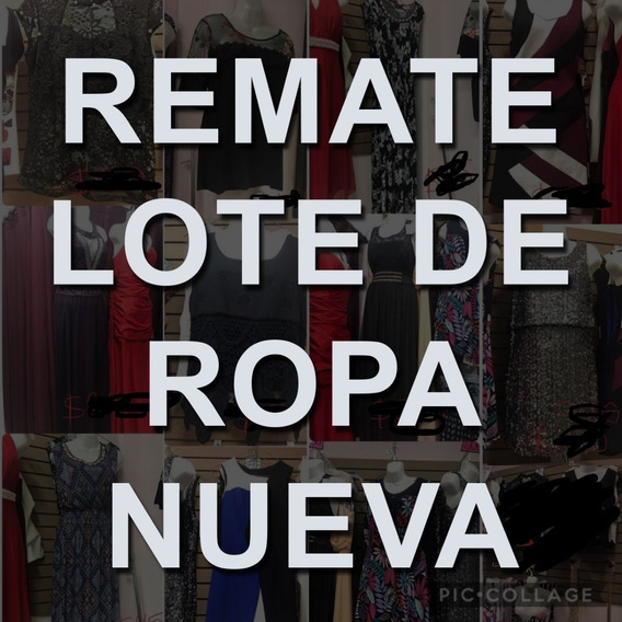 Remate Lote De Ropa Nueva / Cierre De Tienda
