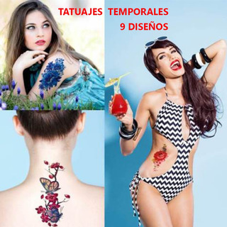 Tatuajes Temporales Para Mujeres