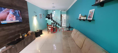 Imagem 1 de 15 de Sobrado Com 3 Dormitórios À Venda, 100 M² Por R$ 477.000,00 - Jardim Santa Maria - São Paulo/sp - So0376