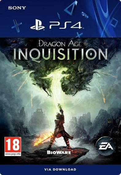 Dragon Age Inquisition Ps4 /digital /original1