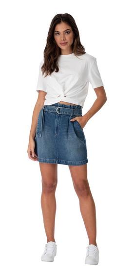 Saia Curta Jeans Colcci 008.01.03278