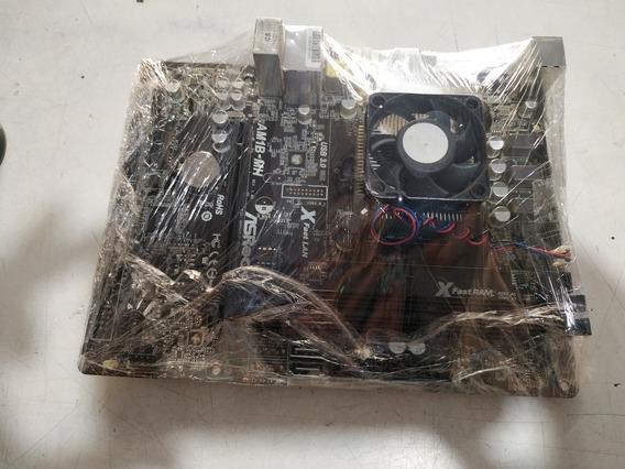 Placa Mãe Am1 Com Processador Semprom 2650 -