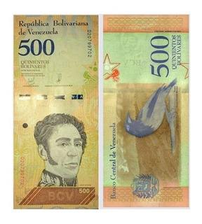 Set Billetes 2, 5, 10, 20, 50, 100, 200,500 Bolivar Soberano