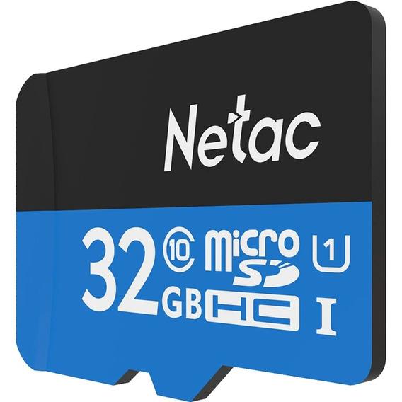 32gb Netac P500 Cartão De Memoria Microsd Class 10 Original