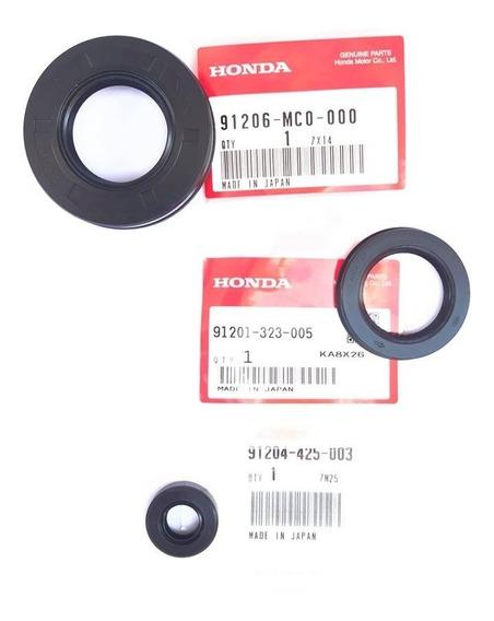 Retentores Cb400 Cb450 (pinhão Externo, Câmbio E Vira)