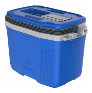 Caixa Térmica Para 45 Latas 32 Litros Air Flow Termolar Azul