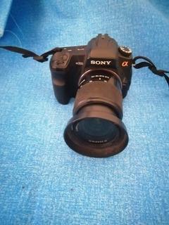 Cámara Profesiona Sony Alpha 200