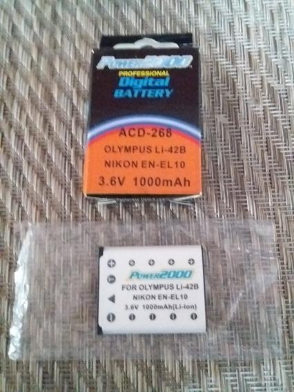Batería Reemplazo P/ Cámaras Olympus-nikon-casio-fuji-pentax