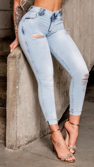 Calça Skinny Cropped , Empina Bumbum, Pit Bull Jeans 33629