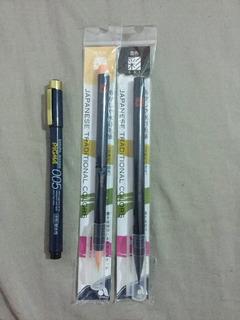 Pinceles Para Dibujo Japoneses