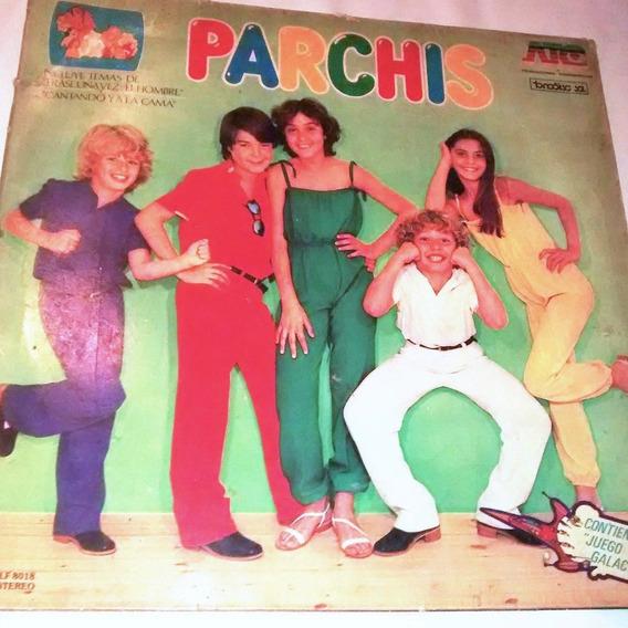 Disco Vinilo Parchis Con Juego Galactico Atc 1980